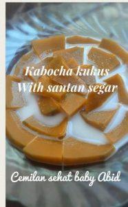 Cara membuat kabocha santan segar