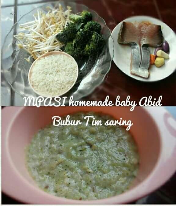 Cara membuat nasi tim ikan tuna lezat