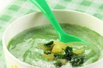 Pure Ubi Bayam Susu yang Enak, Sehat, dan Bergizi